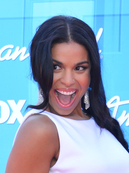 Singer Jordin Sparks arrives at Fox's