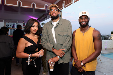 Jordyn Woods Spotify's House of Are & Be Event With dvsn, Lucky Daye and D-Nice