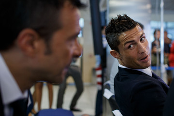 Jorge Mendes Cristiano Ronaldo Signs Contract Renewal For Real Madrid