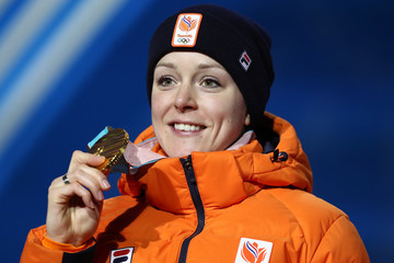 Jorien Ter Mors Medal Ceremony - Winter Olympics Day 6