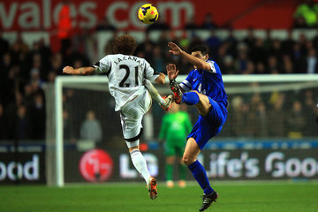 Jose Alberto Canas Swansea City v Everton