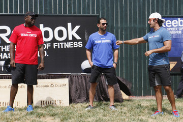 Jared Davis Jose Bautista And David Ortiz In Reebok CrossFit Challenge In Kansas City