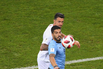 Jose Fonte Uruguay v Portugal: Round of 16 - 2018 FIFA World Cup Russia
