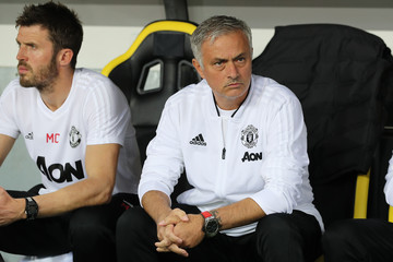 Jose Mourinho BSC Young Boys v Manchester United - UEFA Champions League Group H
