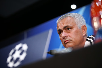 Jose Mourinho Manchester United Training And Press Conference