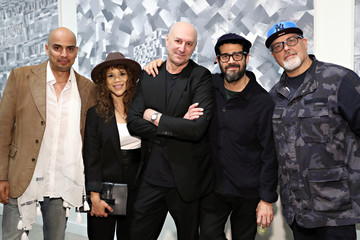 Jose Parla Roger Gastman And LL COOL J Host BEYOND THE STREETS Opening Night At 25 Kent