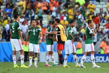 Jose de Jesus Corona Netherlands v Mexico: Round of 16 - 2014 FIFA World Cup Brazil