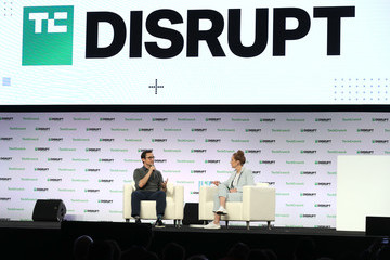 Joseph Gordon-Levitt TechCrunch Disrupt Conference Held In San Francisco