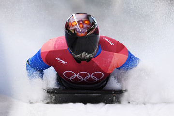Joseph Luke Cecchini Skeleton - Winter Olympics Day 6