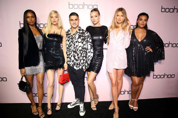 Josephine Skriver Romee Strijd Boohoo x All That Glitters Launch Party