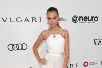 Josephine Skriver 25th Annual Elton John AIDS Foundation's Oscar Viewing Party With Cocktails by Clase Azul Tequila and Chopin Vodka