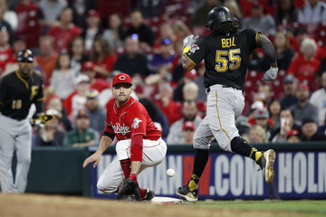 Josh Bell Pittsburgh Pirates vs. Cincinnati Reds