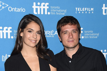 Josh Hutcherson Claudia Traisac 'Escobar: Paradise Lost' Press Conference - 2014 Toronto International Film Festival