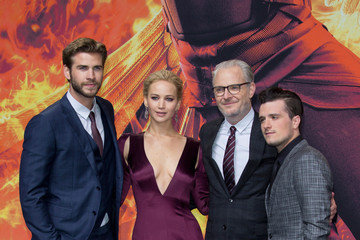 Josh Hutcherson Francis Lawrence 'The Hunger Games: Mockingjay - Part 2' World Premiere in Berlin