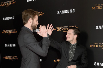 Josh Hutcherson Liam Hemsworth 'The Hunger Games: Mockingjay - Part 2' New York Premiere
