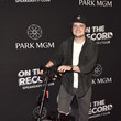 Josh Hutcherson On The Record Speakeasy And Club Red Carpet Grand Opening Celebration At Park MGM