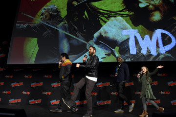 Josh McDermitt AMC At NYCC 2019