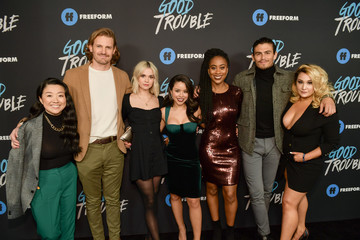 Josh Pence Maia Mitchell Premiere Of Freeform's 'Good Trouble' - Arrivals