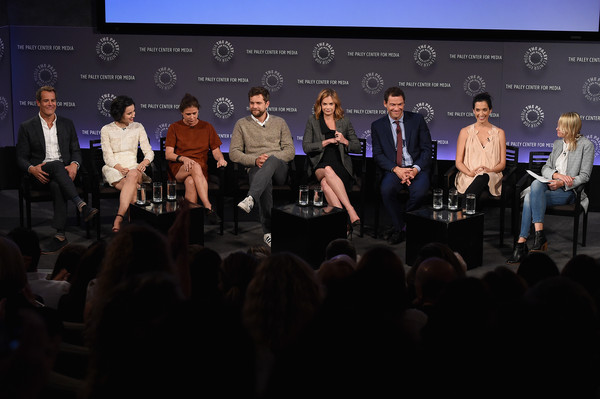 'The Affair' Screening and Panel Discussion For the Third Annual PaleyFest [event,convention,audience,crowd,performance,academic conference,stage,third annual paleyfest,l-r,the affair screening and panel discussion,ruth wilson,dominic west,joshua jackson,maura tierney,josh stamberg,julia goldani telles,sarah treem]