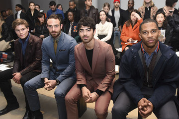 Joshua Sasse Perry Ellis - Front Row - Mercedes-Benz Fashion Week Fall 2015