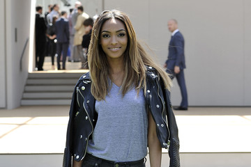 Jourdan Dunn Burberry Prorsum SS15: Arrivals