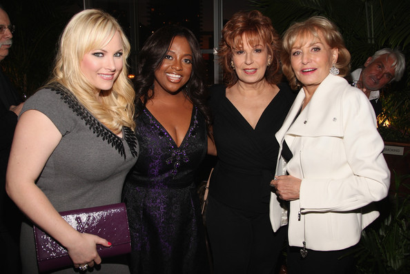 meghan mccain pictures. Joy Behar and Meghan McCain