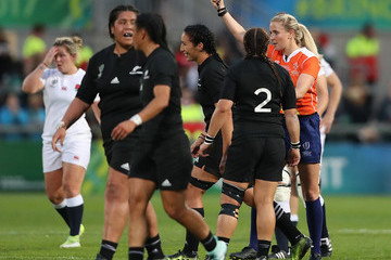 Joy Neville England v New Zealand - Women's Rugby World Cup 2017 Final