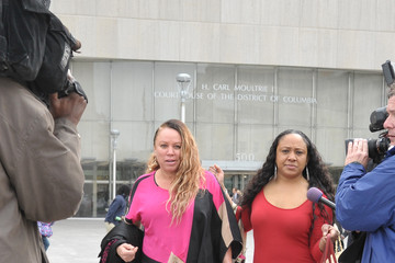 Joyce Hawkins Arrivals at Chris Brown's Trial in Washington, DC