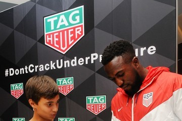Jozy Altidore TAG Heuer USMNT Appearance
