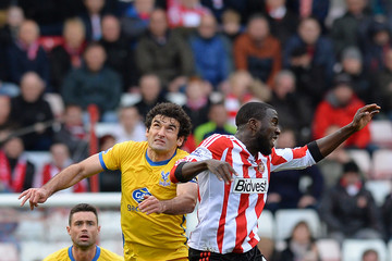 Jozy Altidore Sunderland v Crystal Palace - Premier League