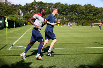Jozy Altidore USA Training Session
