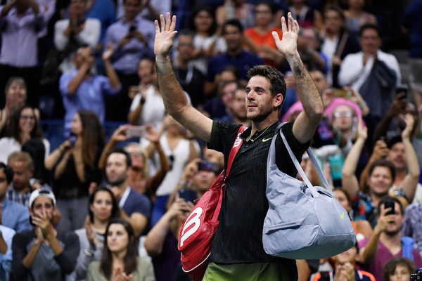 Juan Martin Del Potro Goes Out To Stan Wawrinka In A Match To Remember