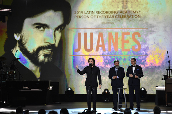 The 20th Annual Latin GRAMMY Awards – Person Of The Year Gala – Show [event,performance,person of the year gala,juanes,person of the year award,latin grammy awards,mgm grand hotel casino,las vegas,latin recording academy,show,gala,person of the year]