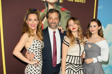 Judd Apatow Leslie Mann Universal Pictures And DreamWorks Pictures' Premiere Of 'Welcome To Marwen' - Arrivals