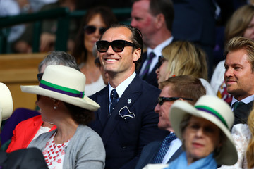 Jude Law Day Eleven: The Championships - Wimbledon 2017