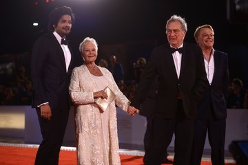 Judi Dench Eddie Izzard Victoria & Abdul and Jaeger-LeCoultre Glory to the Filmaker Award 2017 Red Carpet - 74th Venice Film Festival
