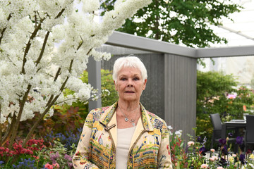 Judi Dench RHS Chelsea Flower Show 2019 - Press Day