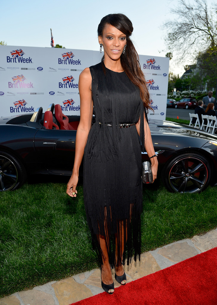 "Judi Shekoni - The Launch Of The Seventh Annual BritWeek Festival ""A Salute To Old Hollywood"" - Red Carpet"