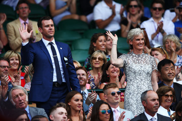 Judy Murray Day Six: The Championships - Wimbledon 2018