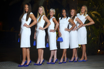 Judy Murray Heather Watson Georgia v Great Britain: Fed Cup Previews