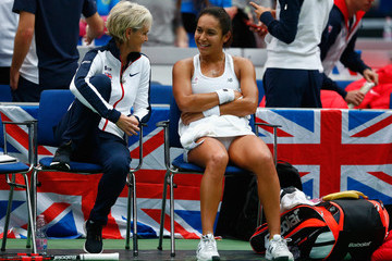Judy Murray Heather Watson Fed Cup Europe/Africa Group One: Day 3