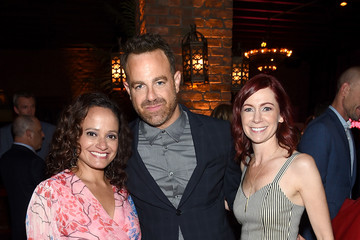 Judy Reyes Carrie Preston Entertainment Weekly & People New York Upfronts Party 2018 - Inside
