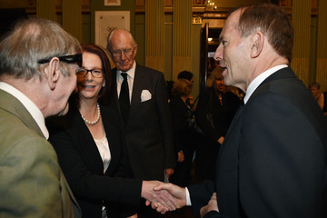Julia Gillard State Memorial Service Held for Gough Whitlam