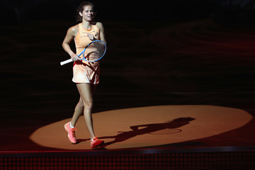 Julia Goerges Porsche Tennis Grand Prix Stuttgart - Day 1