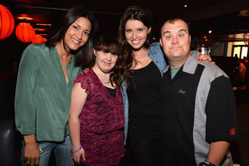 Julia Jones Best Buddies' Bowling for Buddies Event