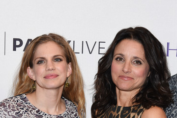 Julia Louis-Dreyfus Anna Chlumsky The Paley Center For Media Hosts An Evening With The Cast Of 'Veep'
