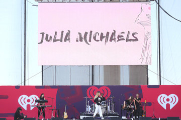 Julia Michaels 2017 Daytime Village Presented by Capital One at the iHeartRadio Music Festival - Onstage