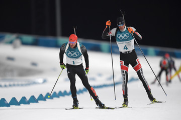 Julian Eberhard Biathlon - Winter Olympics Day 3