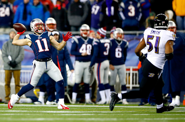 Julian Edelman - Divisional Playoffs - Baltimore Ravens v New England Patriots
