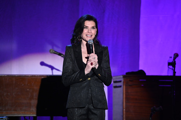 2019 A Funny Thing Happened On The Way To Cure Parkinson's - Inside [happened on the way to cure parkinson,performance,entertainment,event,speech,orator,performing arts,public speaking,singing,music artist,singer,julianna margulies,stage,new york city,the michael j. fox foundation,thing]